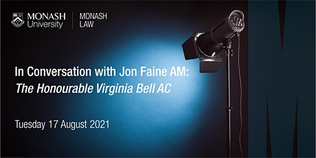 In Conversation With Jon Faine: Justice Virginia Bell AC tickets