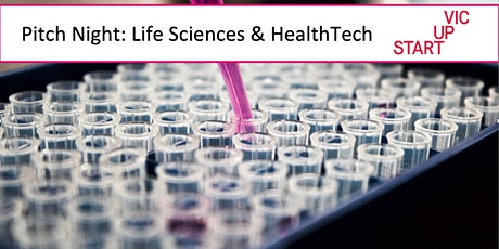 Pitch Night: Life Sciences & HealthTech tickets