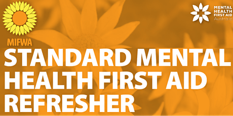 Standard Mental Health First Aid - Refresher Course tickets