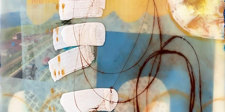Encaustic: mixed media with oil and pastels tickets