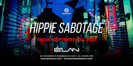 Hippie Sabotage at Elan Savannah (Fri, Sep. 24th) tickets