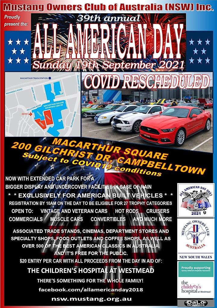 All American Day - Sydney Car Show image