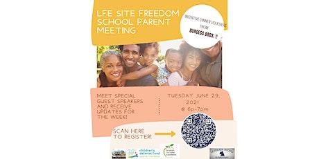 Sac City Freedom Schools Parent Meeting tickets