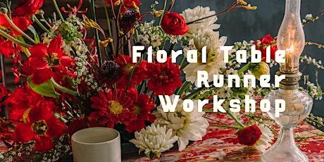 Fresh Flower Installation - Table Runner tickets