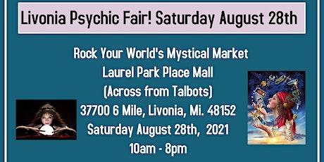 Mini Psychic Fair @ Rock Your World's Mystical Market in Laurel Park Place! tickets