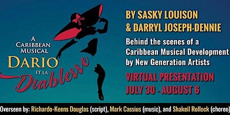 Dario et La Diablesse: A Caribbean Musical - in Development entradas