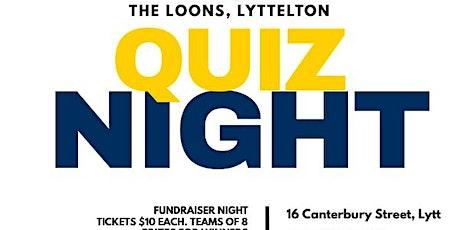 Quiz Night fundraiser tickets