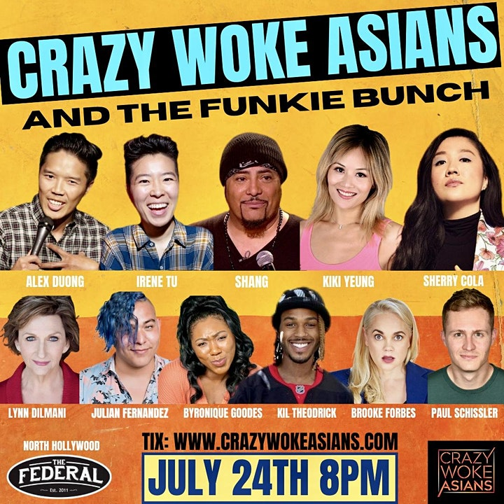 CRAZY WOKE ASIANS & THE FUNKIE BUNCH AT THE FEDERAL IN NORTH HOLLYWOOD! image