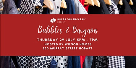 Bubbles & Bargains - Hosted by Wilson Homes tickets