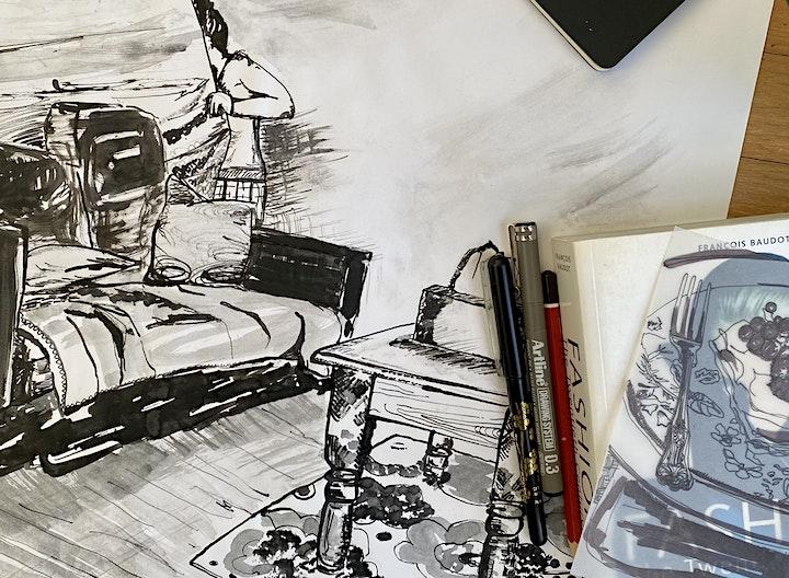 Ink Drawing Workshop image