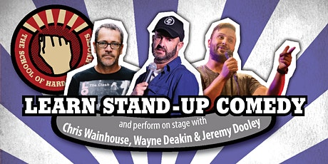 Learn stand-up comedy in Melbourne this September with Wayne Deakin tickets