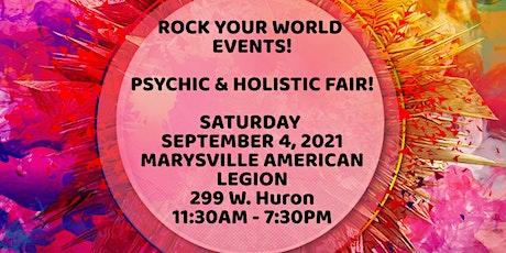 Psychic & Holistic Labor Day Weekend  Fair in Marysville! tickets