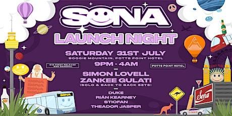 Sona Launch Night tickets