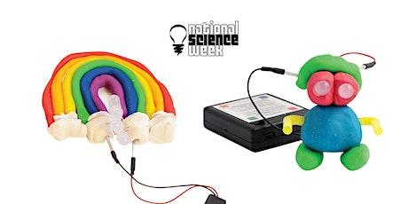 Science Week: Light-up playdough creations! - Sam Merrifield tickets