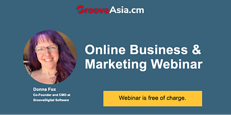Online Business and Marketing Webinar tickets