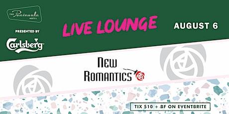 Peninsula Live Lounge presents the New Romantics August 6 tickets