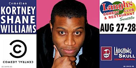Comedian Kortney Shane Williams tickets