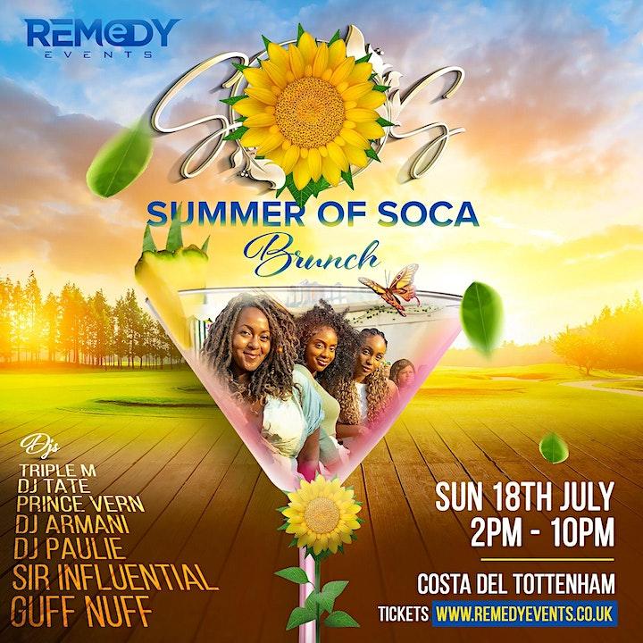 Summer Of Soca Brunch image
