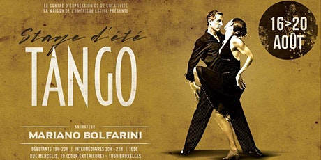 Stage Tango -intensif- tickets