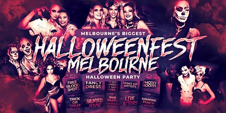 Halloweenfest Melbourne 2021 tickets