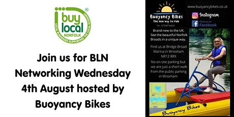 Buy Local Norfolk  Networking - 4th August tickets