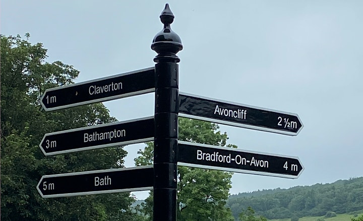 Get the train to Bradford on Avon and run back (10 miles) image