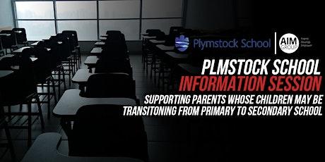 Plymstock School Information Session- 7:15PM tickets