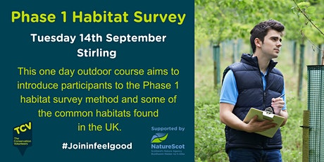 Phase One Habitat Survey (1 day outdoors, Stirling) tickets