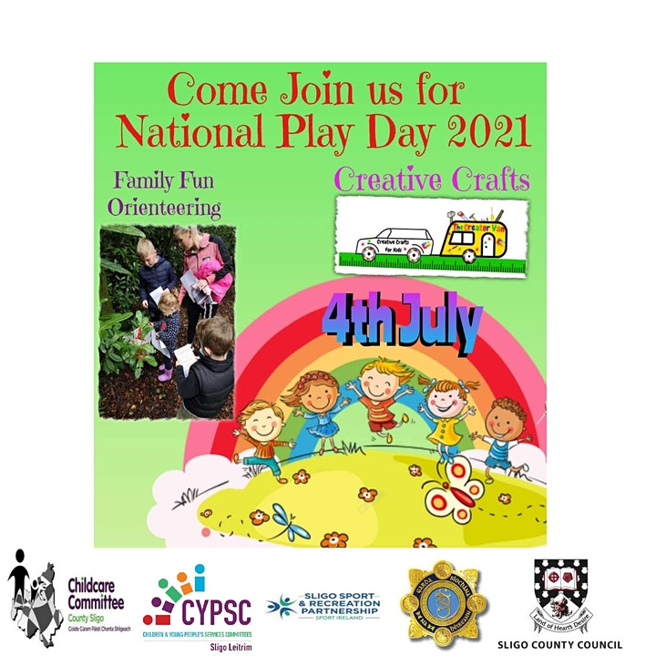 Family Fun Orienteering Event, funded under National Playday by the DCEDIY image