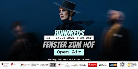 Fenster zum Hof (Open Air) - Hundreds Tickets