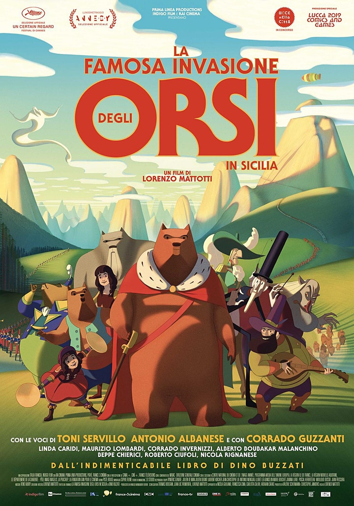 Immagine Cinema al parco: La famosa invasione degli orsi in Sicilia