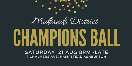 Midlands District Champions Ball tickets