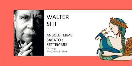Walter Siti - Contro l'impegno. Riflessioni sul Bene in letteratura biglietti