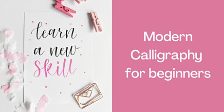 Modern Calligraphy Online Workshop - Art Class tickets
