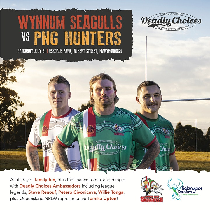 Wynnum Manly Seagulls v PNG Hunters - Round  15 In image