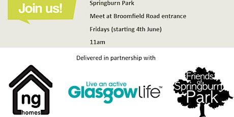 Springburn Park Walk n Talk tickets