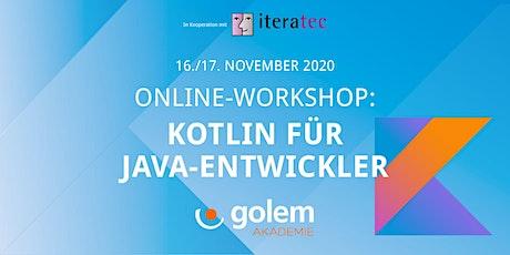 Online-Workshop: Kotlin für Java-Entwickler Tickets