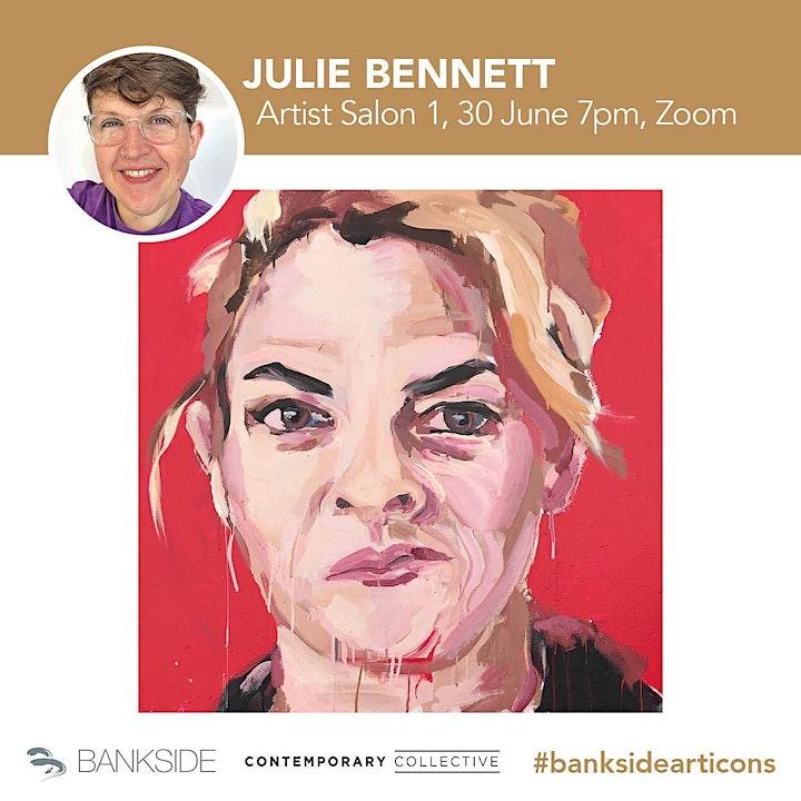 ARTIST SALON 1   INSPIRATION   WITH #ARTISTINRESIDENCE JULIE BENNETT image