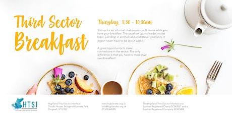 Third Sector Breakfast tickets