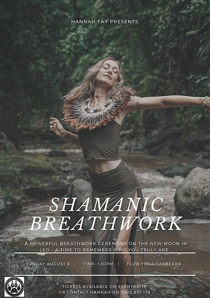 Leo New Moon Shamanic Breathwork image