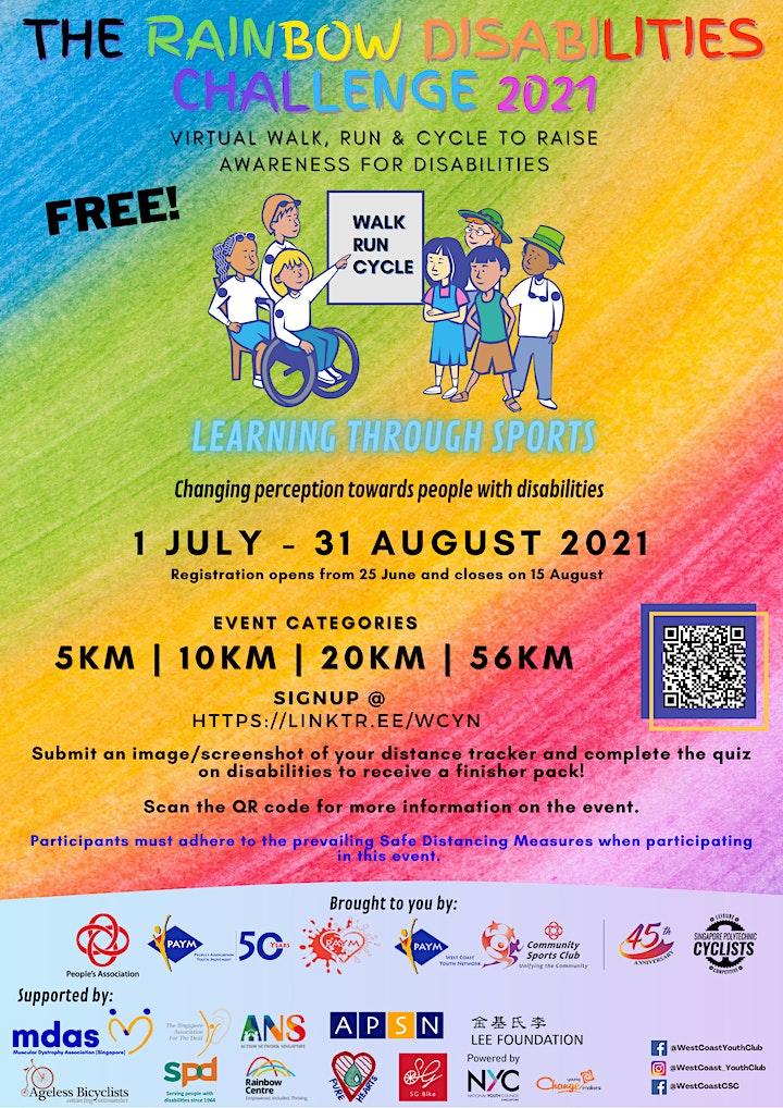 The Rainbow Disabilities Challenge 2021 image