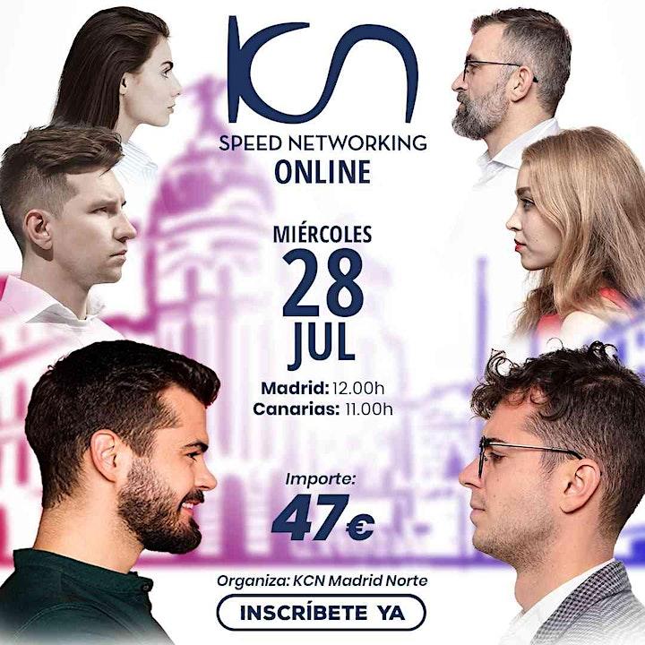 Imagen de KCN Madrid Norte Speed Networking Online 28 Jul