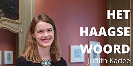 Het Haagse Woord door Judith Kadee: verwarring i/h werk van Escher (gratis) tickets