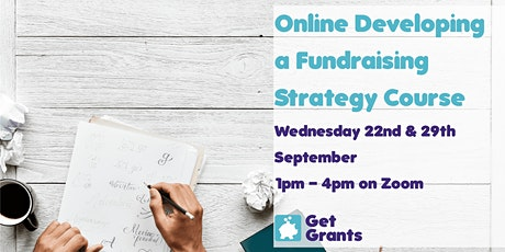 Online Developing a Fundraising Strategy Training Course tickets