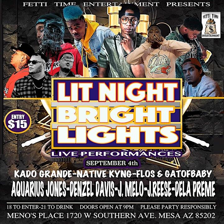 Lit Night Bright Lights image