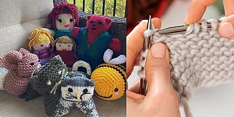 """Knitting with Claire, """"The Knitter"""" tickets"""