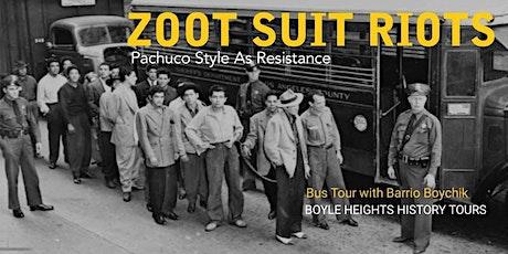 """""""Zoot Suit Riots"""" Bus Tour tickets"""