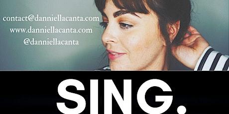 Vocal Lesson with Professional Singer Danniella Zamparelli tickets