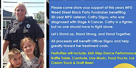 MPD Weed Street Block Party Cathy Digou Fundraiser tickets