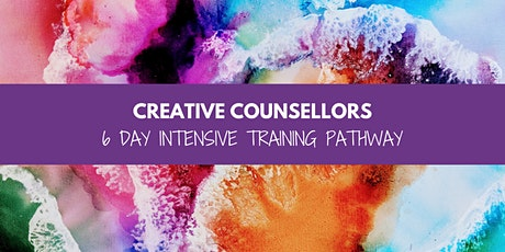 CPCAB Endorsed Creative Counsellors (6 Day Intensive) Training Pathway tickets